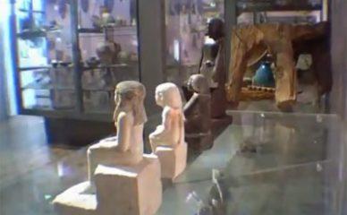 Misterija egipatske statue koja se okreće oko svoje ose